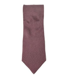 Kenneth Cole Reaction Silk Tie Blue and Red Square